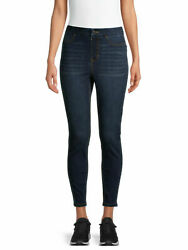 *** NOBO No Boundaries Juniors Curvy SUPER HIGH RISE PULL ON JEGGINGS. Size M.** $17.99