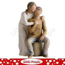 Willow Tree Figurine You And Me Husband And Wife Couple Together Susan Lordi 26439