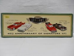 Secondhand Hot Wheels Legend 40th Anniversary Of Signature 57 Collectorand039s Items