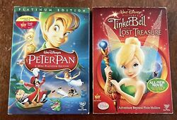 Walt Disney Pictures Tinkerbell And The Lost Treasure 2009 Dvd