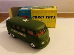 Corgi. 1962 When It Was Made 356 Military Personnel Carriers Corgi