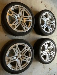 Genuine Kahn 22andrdquo Rs600 Alloys With Tyres Fits Range Rover Sport Or Similar