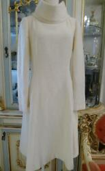 White Back Collar Jewelry Button Tweed Dress 00a 38