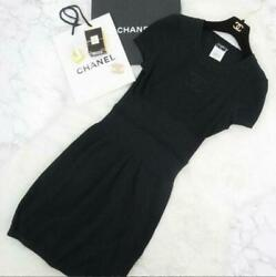 2009 Spring/summer Chest Coco Mark Short Sleeve Cotton Knit Dress