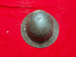 Ww1 Us Soldiers Doughboy Helmet With Liner