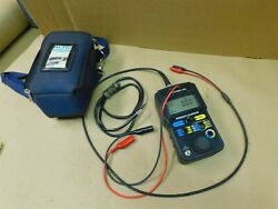 Altek 942 Frequency Calibrator With Leads And Carry Case