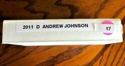 2011-d Andrew Johnson Presidential Roll F71 In Sealed Mint Box.