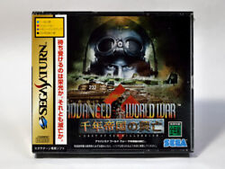 Sega Saturn Ss Advanced World War The Rise And Fall Of 1 000-year Empire Jp Game