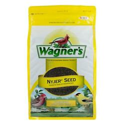 Wagner Nyjer Seed Wild Bird Seed Food Finch American Goldfinch Outdoor 10 Lb.
