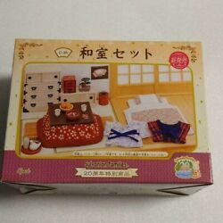 Epoch Sylvanian Families 20th Anniversary Japanese Home Set Calico Critters C-38
