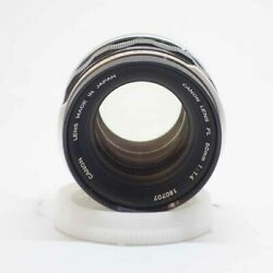 Secondhand Canon Fl50/1.4 Used Lenses Mf Lens Rank