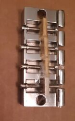 New Old Stock Bass Guitar Bridge Made In Japan 80and039s Aria Electra Westone