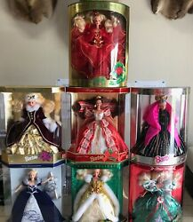 Special Edt Holiday Barbie Collection Millennium '93 '94 '95 '96 '97 98' Barbies