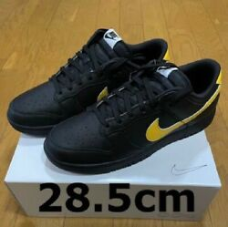 Nike Dunk Low Size 28.5cm Us10.5 Black Yellow Good Condition From Japan