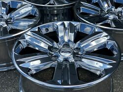 Free Shipping 4 20 Oem Chrome Ford F-150 F150 Lincoln Navigator Factory Wheels