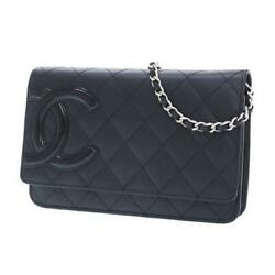 Cambon Line Chain Wallet Rank Secondhand _75236