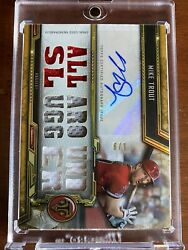 1/9 2020 Topps Triple Threads Mike Trout Gu Game Used Relic Auto Angels Patch