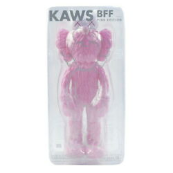 Medicom Toy Kaws Bff Open Edition Pink Figure Size Free