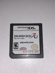 Nintendo Ds Final Fantasy Tactics A2 Grimmore Of The Rift Game Cart Only