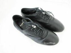 Auth Ysl Leather Sneakers Shoes With Zipper - Size 8/38 Hard To Find Bnib
