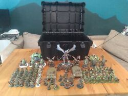 Warhammer 40k Death Guard Army Painted With Case