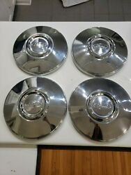 Ford Crown Victoria Police/taxi Dog Dish Hubcaps 80and039s Early 90and039snice Clean