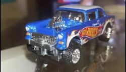 Exclusive Hot Wheels 2020 55 Chevy Bel Air Gasser From Display Case
