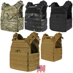 Condor Us1020 Molle Cyclone Tactical Light Weight Esapi Plate Carrier Vest - Usa