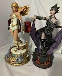She-ra Evil-lyn Statue Sideshow Motu 15 Scale Masters Of The Universe Sold Out