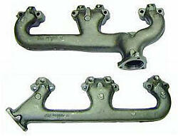 Camaro Exhaust Manifolds, Small Block And 302ci, With Smog Fittings, 1969-1970