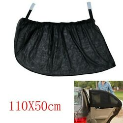 2x Car Sun Shade Screen Cover Blind Mesh Uv Protection For Rear Side Kids