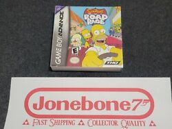 Gba Gameboy The Simpsons Road Rage Brand New Factory Sealed Game Boy Advance
