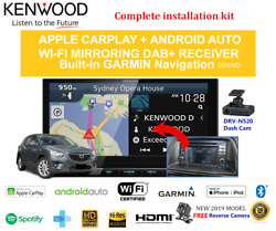 Kenwood Dnx9190dabs For Mazda Cx5 2012-2015 Ke Bose Amplified - Stereo Upgrade