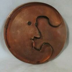 Martha Stewart The Man In The Moon Large Copper Cookie Cutter