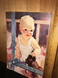 Vintage Your Baby Softcover Baby Care Book.1950 Pet Milk Advertising