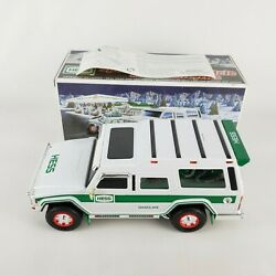 2004 Hess Truck Sport Utility Vehicle And Motorcycles 40th Anniversary Edition