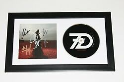 Sevendust Band Signed Framed And039blood And Stoneand039 Cd Cover Album W/coa Home Seasons