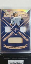 Mike Piazza 2019 Leather And Lumber Triple Used Worn Jersey/bat /25