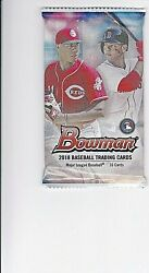 1 Pack Sealed 2018 Bowman 10 Cards With Chrome Acuna Tatis Ohtani Rc