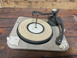 Vintage 1960s Philco Radio Turntable From Console Made By Bsr Untested Parts