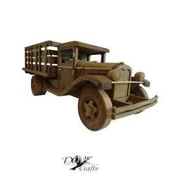 Car And Vehicle Models Wooden Handmade Highly Detailed