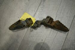 1985 Yamaha Yz80 Oem Left And Right Foot Pegs Pair Fast Shipping