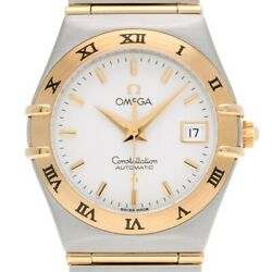 Free Shipping Pre-owned Omega Constellation 1292.30 Silver Dial Self-winding