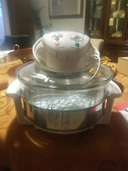 Magic Chef 3-gallon Glass Bowl Convection Oven Complete Ewgc12w3 Lightly Used