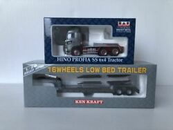 Platts 1/50 Hino Profia Ss 6x4 Tractor Trailer For Transporting 16 Wheels And