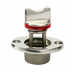 Stainless Steel Pair Oval Garboard Drain Plug Boat Fits 1and039and039 Hole.thread For 3/4