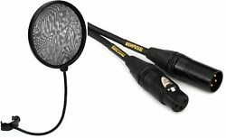 Neumann Ps 20 A Pop Screen + Mogami Gold Studio Microphone Cable - 25 Foot