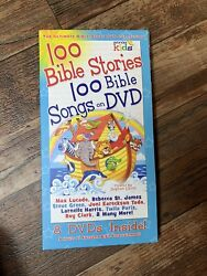 The Ultimate Bible Story Dvd Collection 8 Disc Set 100 Stories And Songs