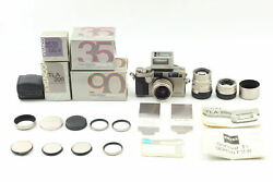 [all Mint] Contax G2 Body + 35mm 45mm 90mm Lens + Tla200 From Japan B36