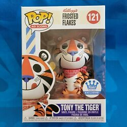 New Funko Pop Ad Icons Kellogg's Frosted Flakes - Tony The Tiger Figure 121